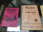Indian Original Parts List 1935 Riders And Bosch Manuals Wow
