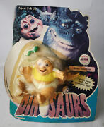 Rare Vintage 1991 Dinosaurs Baby Sinclair Figure Hasbro New Sealed Mosc