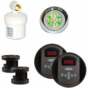 New Steamspa Royal Rypkob2 Control Kit, Dual Panels, Oil Rubbed Bronze