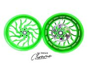 Gsxr Stock Size Neon Green Hellian Wheels 06-07 Suzuki Gsxr 600 750
