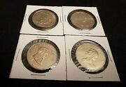 Lot Of 4 President Coins 2000- Republic Of Liberia 5 Dollar Medals