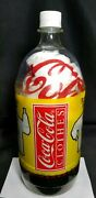 Rare Nos 1988 Coca-cola Clothing Rwb Rugby Long Sleeve Sealed In A Bottle Sz S