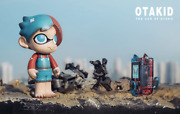 Otakid Gamer Vinyl Figure Set By Sank Toys In Hand Sold Out /99 Usa Seller