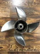 Stainless Steel Boat Propeller Great Hole-shot Prop For 150hp E-tec