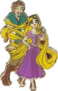 Disney Pins Rapunzel And Flynn Tangled In Her Hair Pin