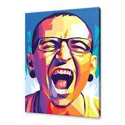 Chester Bennington Linkin Park Canvas Print Picture Wall Art Free Fast Delivery