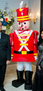 6 Ft Life Size Toy Soldier Mascot Holiday Christmas Costume
