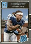 Derrick Henry 2016 Donruss Rated Rookie Rc Card 365 Tennessee Titans