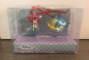 Disney Primark The Little Mermaid - Ariel And Flounder Christmas Decorations
