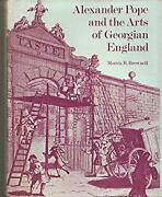 Alexander Pope And The Arts Of Georgian England Hardcover Morris R. Brownell