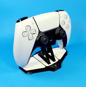 Custom Display Stand For Ps5 Playstation 5 Dualsense Controller - 3d Printed