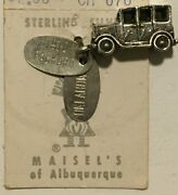 Packard Classic Car Oklahoma Tag Charm Maisels Of Albuquerque Sterling Silver