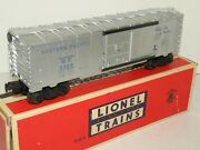 Lionel Pw 6464-1 Wp Western Pacific Silver Boxcar With Box