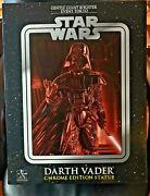 Star Wars Darth Vader Chrome Edition Statue Gentle Giant @ Blister Event Tokyo