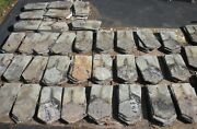 Over 400 Beautiful Antique Original Slate Shingles From Old 1800and039s Farm House