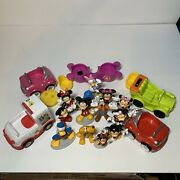 Disney Junior Mickey Mouse Clubhouse Mickey Minnie Donald Goofy Cake Topper Cars