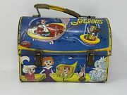 1963 Jetsons Dome Lunchbox No Thermos. Displays Nicely Very Rare Aladdin