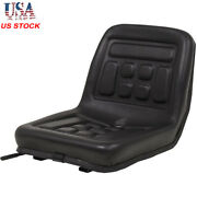 Universal Forklift Tractor Seat With Backrest Dumper Seat Mower Replacement Us