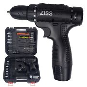 12v Electric Drill 3/8 Power Cordless Screwdriver 32pcs Drill Set With Battery