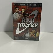 Red Dwarf Dvd Set The Complete Collection 1988-1999 Tv Series Bbc Video 18-discs