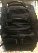 Tumi Briefcase Backpack