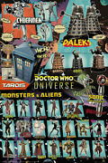 Doctor Who - Tv Show Poster / Print Dr. Who Comic Characters