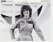 Nasa Photographs - Vintage Collectables - Sts-7 Astronaut Dr Sally K. Ride 1983