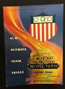 Price Drop 1960 Us Olympic Trials Boxing Finals Cow Palace Sf Cassius Clay/ali