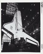 Nasa Photographs - Vintage Collectables - Discovery In Vehicle Assembly Building