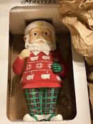New Limited Edition 2020 Masters Holiday Garden Gnome Augusta National Golf Club