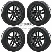19 Dodge Charger Awd Gloss Black Wheels Rims And Tires Oem Set 4 2018-2019 2637