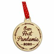2020 Christmas Ornament | Our First Pandemic