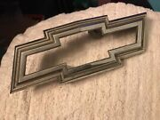 1969 1970 Chevy C K 10 5 Series Pick Up Truck Grill Emblem Badge Bow Tie