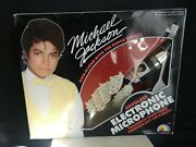 Michael Jackson Collectable Sound Rare Recorder Machine Sing A Long + Microphone
