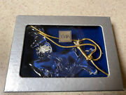 Mikasa Crystal Ornament - Reindeer - Joyous Collection - With Box