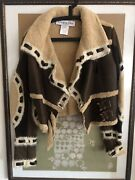Never Worn Dior By John Galliano Suede / Shearling Aviator Jacket A/w And03905