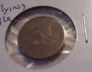 1857 Flying Eagle Cent Penny Copper