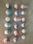 Crate And Barrel Christimas Decoration For Christmas Tree Lot Of 18