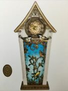Musical Hallmark Tabletop Or Wall Beauty Of Birds Mantle Piece Real Clock 2020