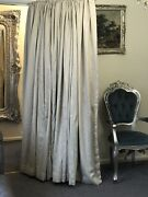 Large Luxury Blackout Stripe Curtains 88andrsquod And 89andrsquow