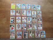 1965 Topps Baseball 7th Series High Number 30 Card Lot Yankees Rookie Stars More