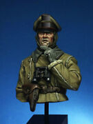 German Officer Of Artillery Regiment Bust Painted Toy Pre-sale   Museum