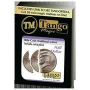 Bite Coin - D0046 Us Half Dollar - Traditional With Extra Piece By Tango