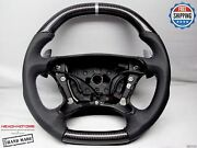 Mercedes W211 E63 W219 Cls63 Sl55 Clk63 F1 Perforated Carbon Steering Wheel V2