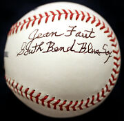 Jean Faut A League Of Their Own Aagpbl Psa/dna Signed Autographed Baseball + Coa