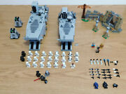 Lego Star Wars First Order Army Lot And Custom Troop Transporter Moc L@@k