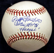 Pepper Paire Davis Aagpbl A League Of Their Own Signed Autographed Baseball Coa