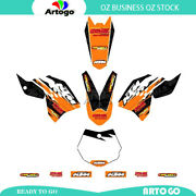 Motorcycle Sticker Decal Kit Graphics Kit For Ktm 65 Sx 2009-2011 2012 2013