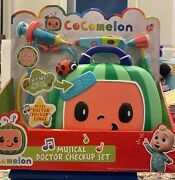New Cocomelon Musical Doctor Checkup Set Case 4 Play Pieces