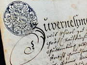 Sealed Marriage Certificate 1781  8 Pages